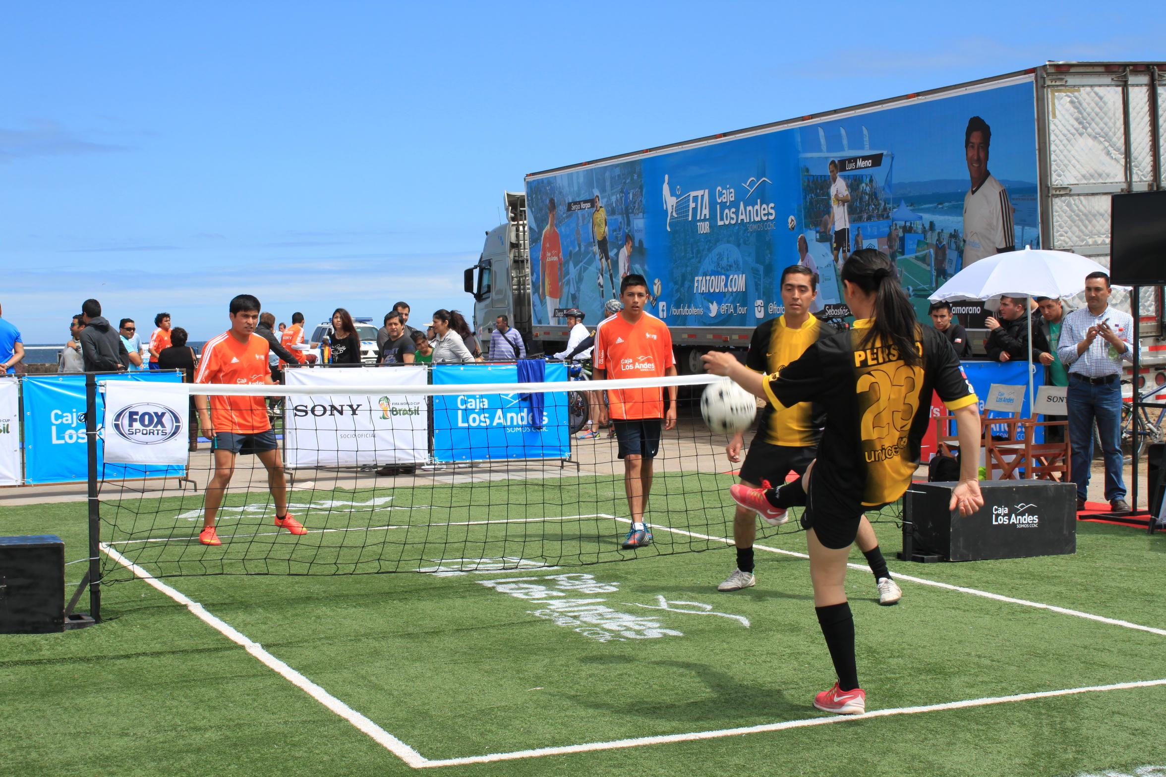 113c887488301 Fútbol Tenis se tomó el sector Las Almejas de Antofagasta